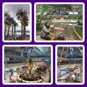 Dubai Airport : megah banget !