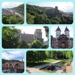 Heidelberg Castle & surrounding