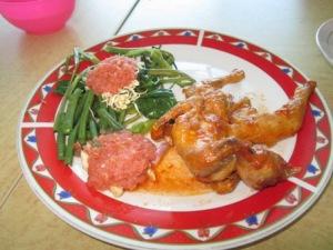 Ayam taliwang goreng