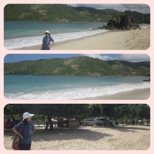 Pantai Kuta yang luas