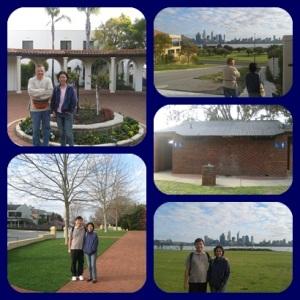 Perth yang sepi