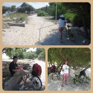 transportasi keliling pulau yang seru, murah dan menyehatkan
