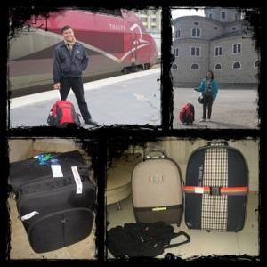 Ransel trolley, koper dan tas ransel yang setia menemani kami traveling