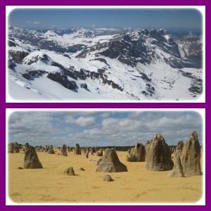 mountain & desert