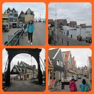 Charming city of Volendam