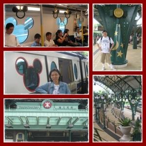 Train Disney @ MTR Disney