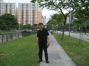 daerah Boon Lay yang asri