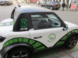 Mobil listrik yang disewakan