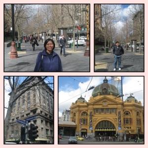 Melbourne yang cantik