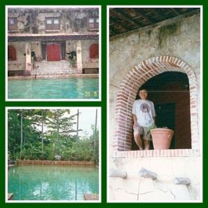 Pool yang alami banget, jadi mirip pemandian raja2 jaman dulu :)