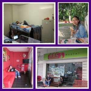 Our backpacker hostel