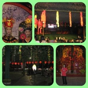 Kiri atas : oriental dress Kanan atas : Phoenix Plaza