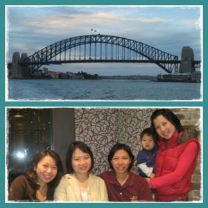 Dwina, Sylvia, Diana & Helen. Nice little reunion :)