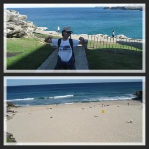 Menyerah di Tamarama beach