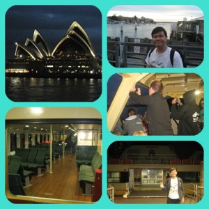 Dari Manly menuju Sentral Sydney
