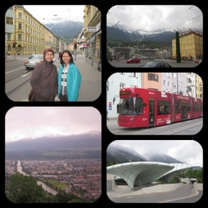 with Ms. Utia : explore Innsbruck