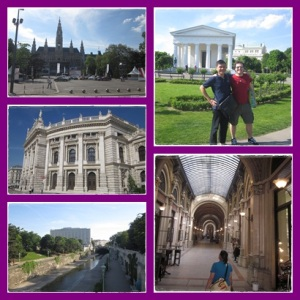 Vienna city tour with Christopher :)