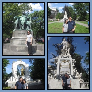 Patung/monumen penting di Vienna