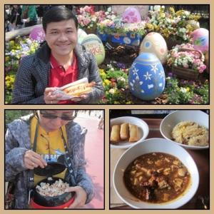 Our meal @ Disneysea