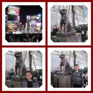 Patung Hachiko - Shibuya