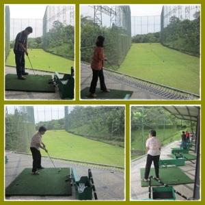 Belajar main golf