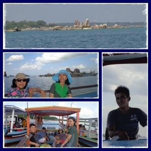 Erwin dan penampakan pulau Batu Berlayar