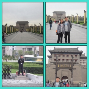 City wall Xian