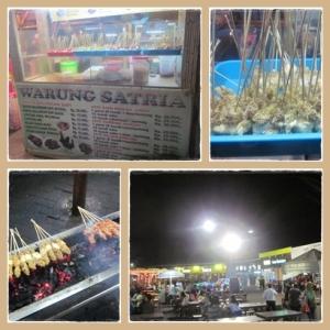 Sate kelapa di food festival