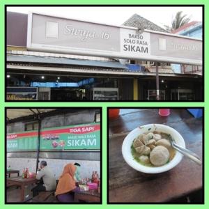 Nyobain baso solo di Palembang