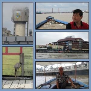 Awak perahu kami siap mengantar ke Pulau Kemaro