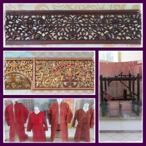 Isi Museum Bala Putra Dewa tentang kebudayaan Palembang
