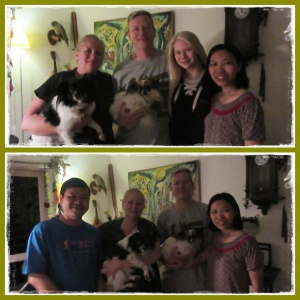 Our host : Hegner family & 2 lovely dogs