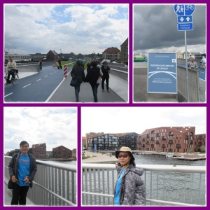 Jembatan yang baru nyambung