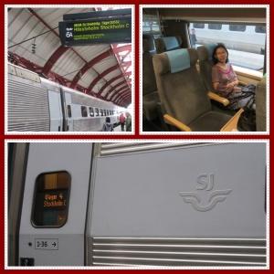 SJ train Malmo-Stockholm