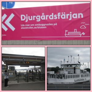 Ferry to Djurgaden