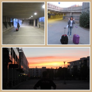 Senja malam terakhir di Eropa