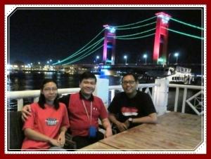 Host kami di Palembang (2015)