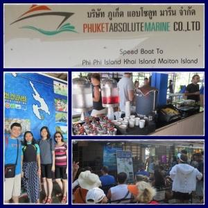 Start Phi Phi Tour